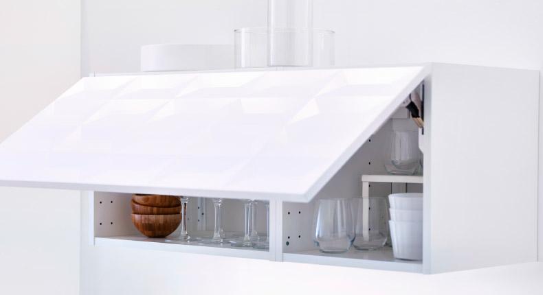 Ikea Keuken Bovenkast : Организация u секрет кухни в минималистском стиле ikea в Минске
